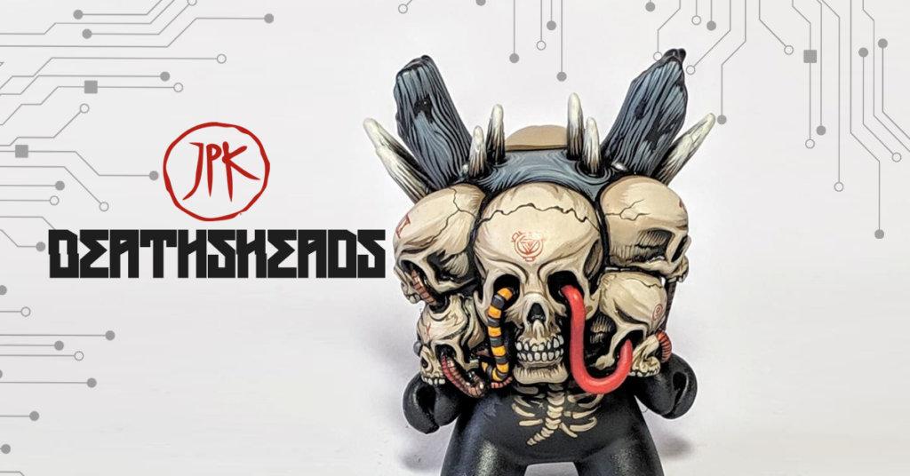 DeathsHeads Dunny JPK x KIDRobot