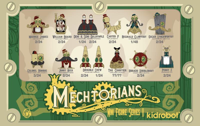 Mechtorians Kidrobot x Doktor A 2018