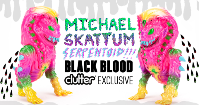 michael-skattum-serpentoid-black-blood-clutter-featured