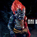 Fire Water Oni Warrior by William Tsang x Steven Choi x Unbox Industries The toy chronicle