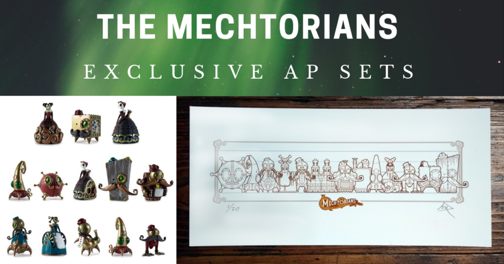 Doktor A The Mechtorians AP Complete Set