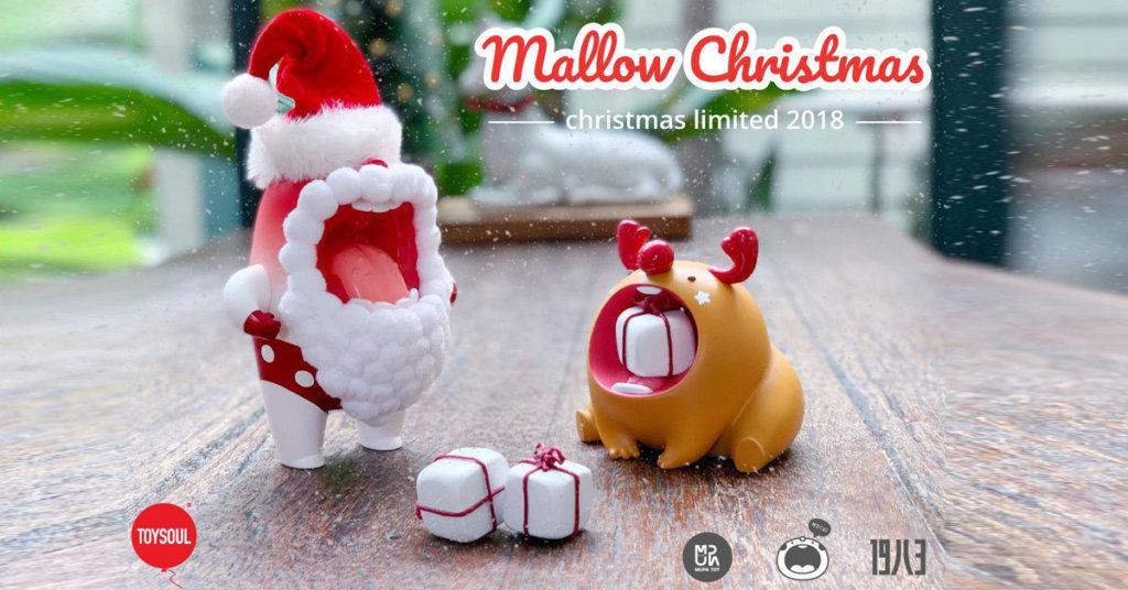 Mallow Summer Santa and Baby rudolf Mochi by MUPA TOY x 19八3