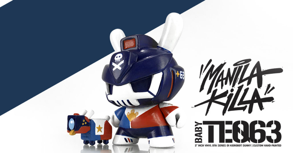 Quiccs Manila Killa Baby TEQ63 ToyArtph at Secret Fresh Gallery