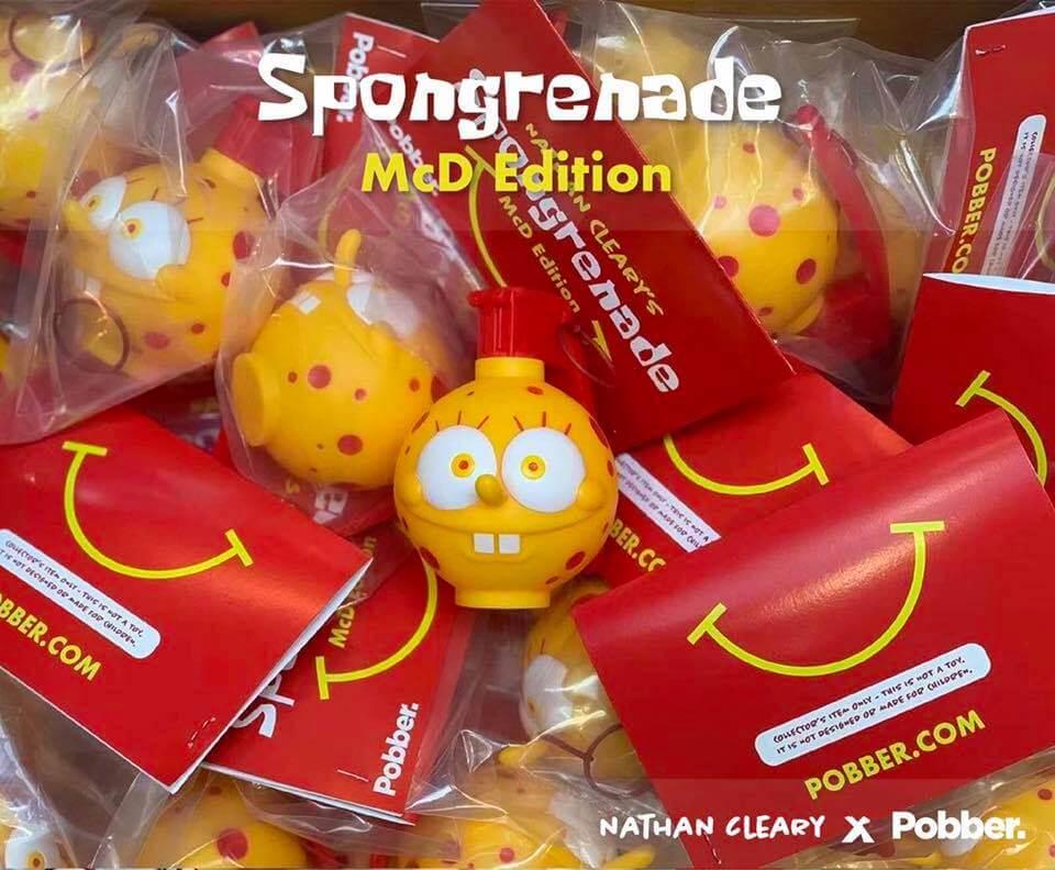 sponge bob nathan Cleary pobber toys Spongrenade og version 2018