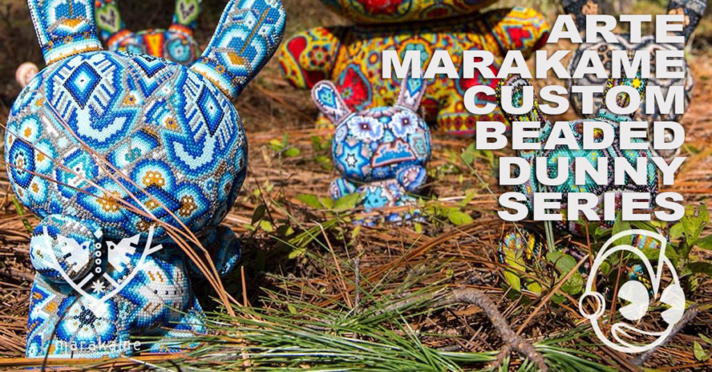 Arte-Marakame-CUSTOM-beaded-Dunny-series