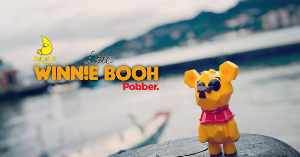 The Toy Chronicle | Loic Bear Winn!e Booh by Banana Virus x Pobber