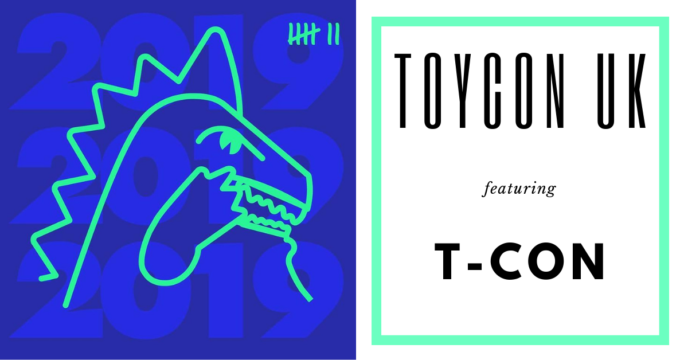 ToyCon uk 2019 T-Con Toyconosaurus header