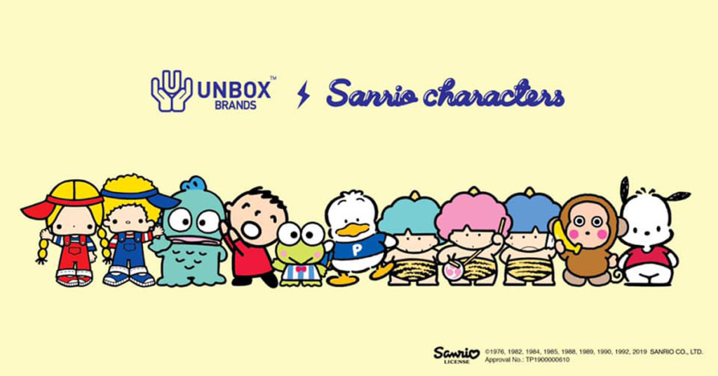 7ad6ce195f0 The Toy Chronicle | Unbox Industries presents Sanrio x Unbox Brands