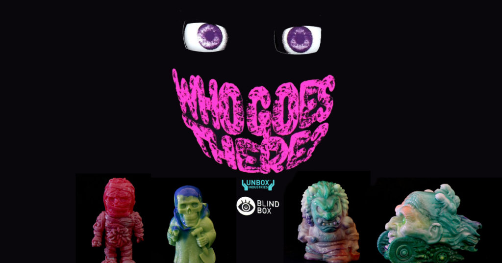 bf5c76aa78d The Toy Chronicle | Unbox Industries presents WHO GOES THERE? Blind Box  Series