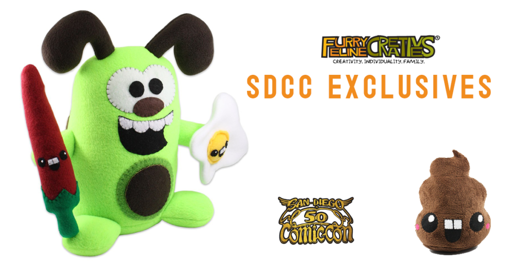 The Toy Chronicle | Furry Feline Creatives SDCC 2019 Exclusives!