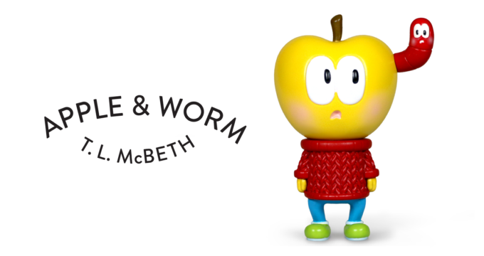 T. L. McBeth Apple and Worm - Yellow Edition Featured
