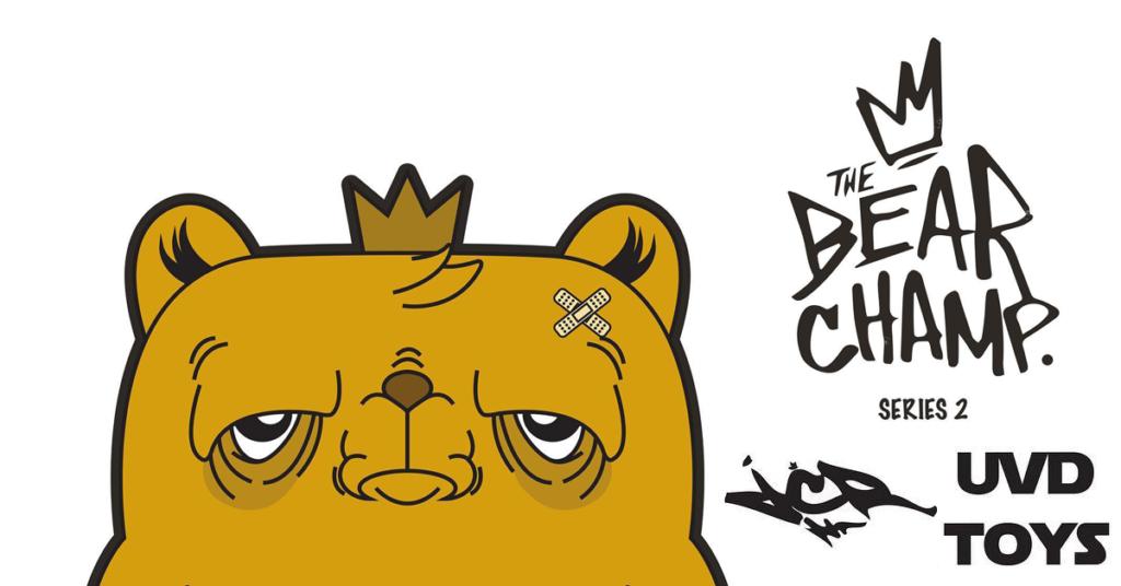 bear-champ-series-2-jc-rivera-uvd-toys-featured