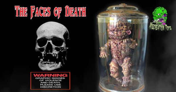 AUTOPSY ZOMBIE STAPLE BABY (THE FACES OF DEATH CUSTOM SERIES) by Miscreation Toys