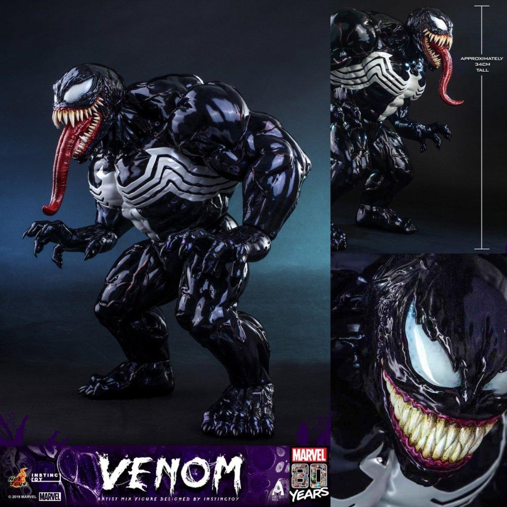 The Toy Chronicle | HOT TOYS x INSTINCTOY Venom Artist Mix by INSTINCTOY