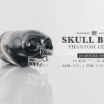 Skull Bomb Phantom Edition by Jason Freeny x Mighty Jaxx