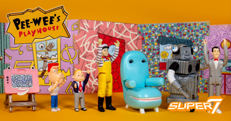 Pee-Wee's Playhouse Super7, ReAction