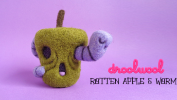 droolwool-rottenapple-worm-featured