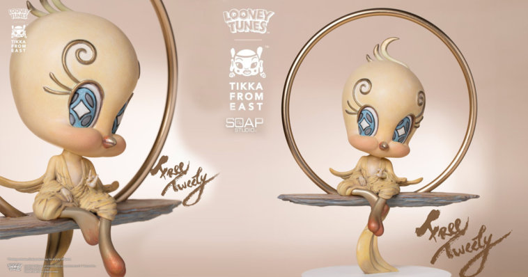 This image has an empty alt attribute; its file name is Free-Tweety-by-Tik-Ka-from-East-x-Soap-Studio-x-Warner-Bros-The-Toy-Chronicle-2020--758x398.jpg