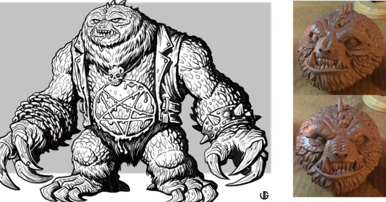 behemoth-metal-sloth-kickstarter-xpandeduniverse