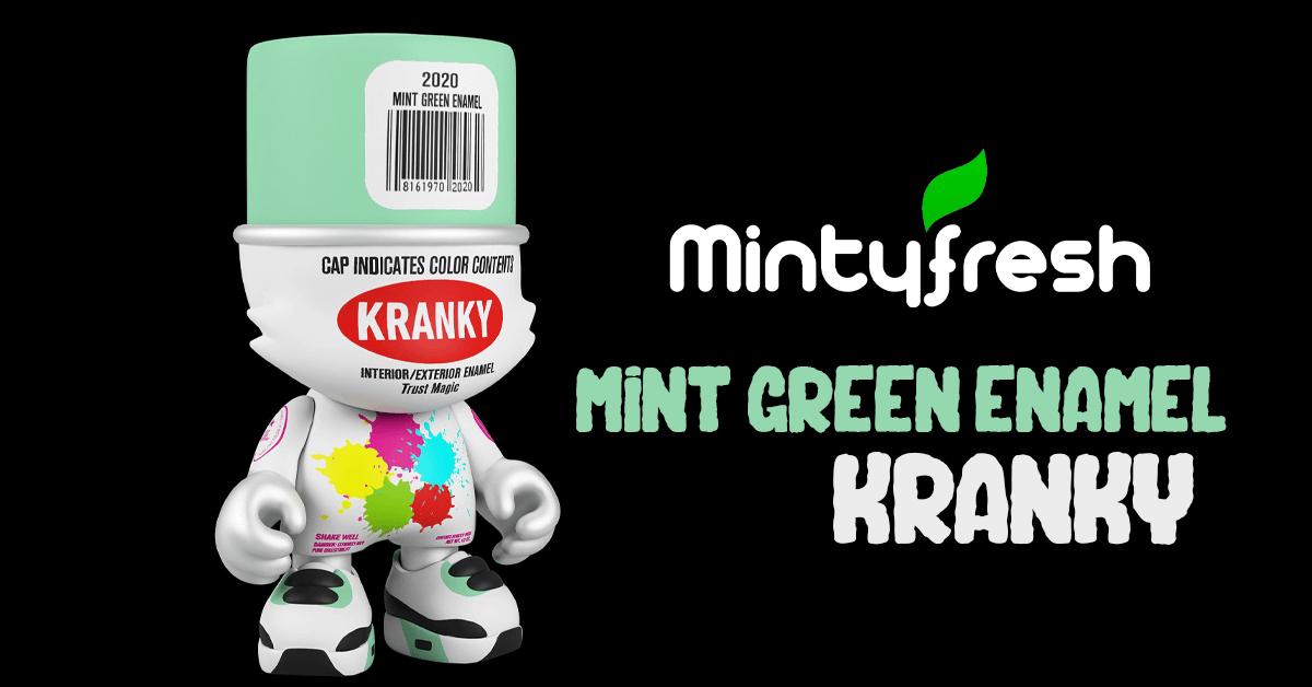 Mint Green Enamel Kranky-mintyfresh-superplastic