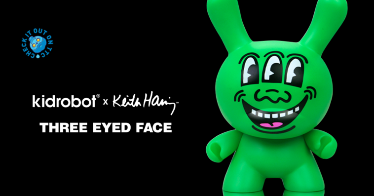kidrobot-keith-haring-three-eyed-face-dunny-featured