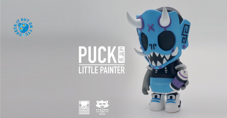 puck-little-painter-tenacioustoys-blue-dokebi-featured