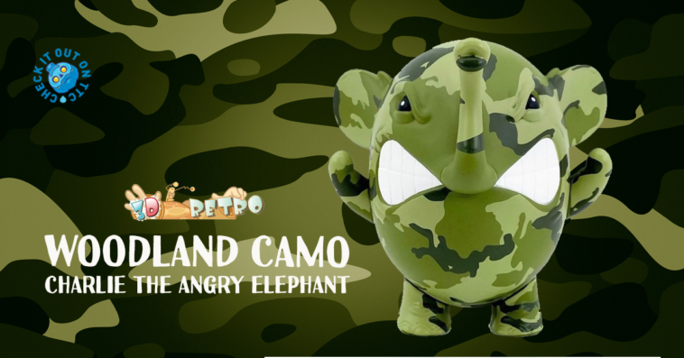 woodlandcamo-angry-elephant-3dretro-angelonce-featured