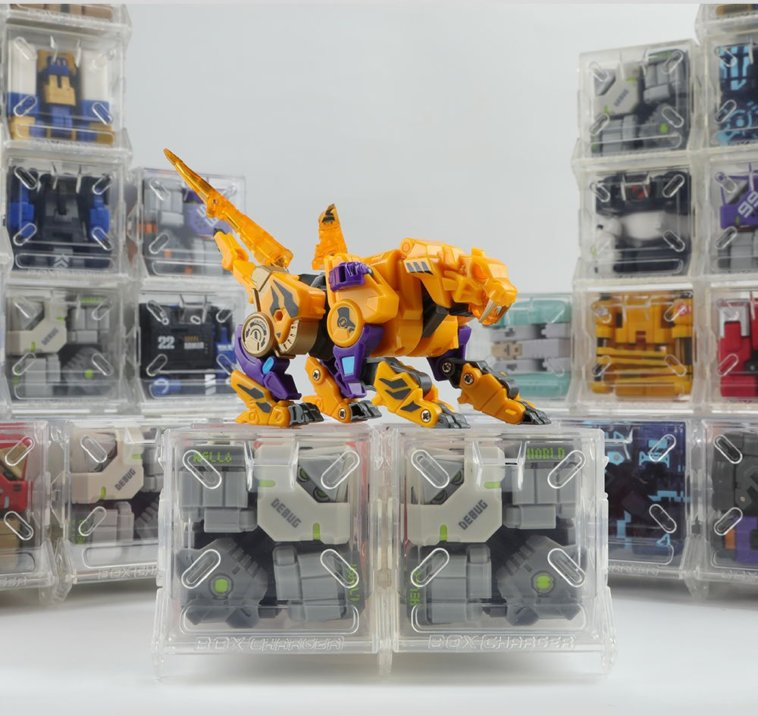 New ARRIVAL 52Toys BeastBox BB-20 BB20 Torado Action Figure Toy in HAND