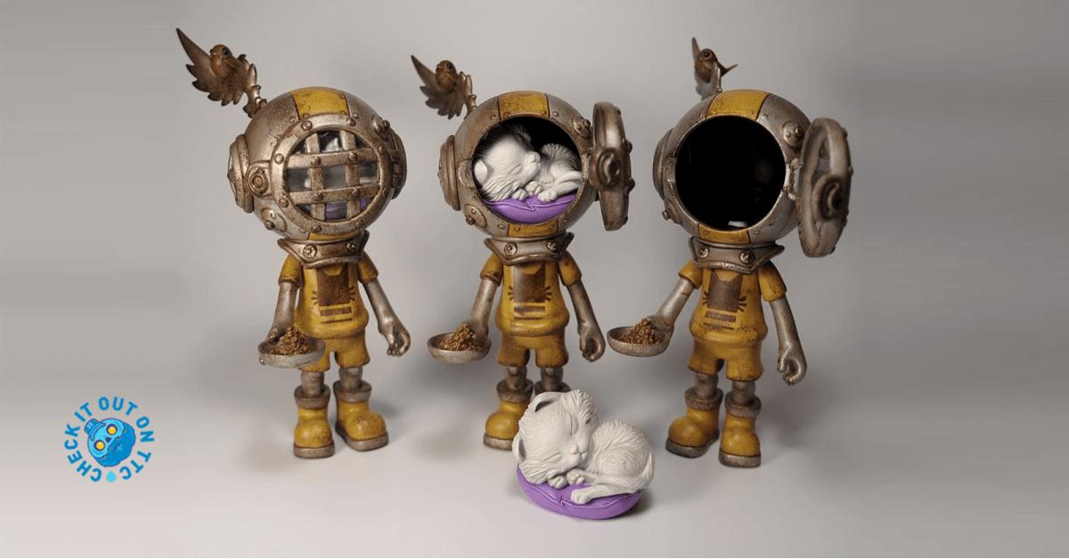 Edelweiss Sank Trio-muffinman-strangecattoys-featured