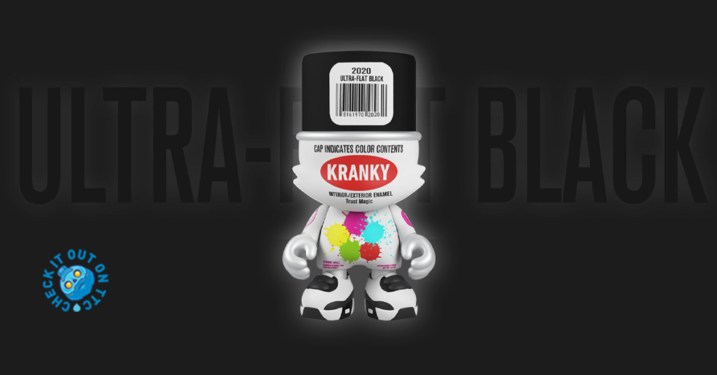 The Toy Chronicle | Ultra-Flat Black Kranky Drop by Sket ...
