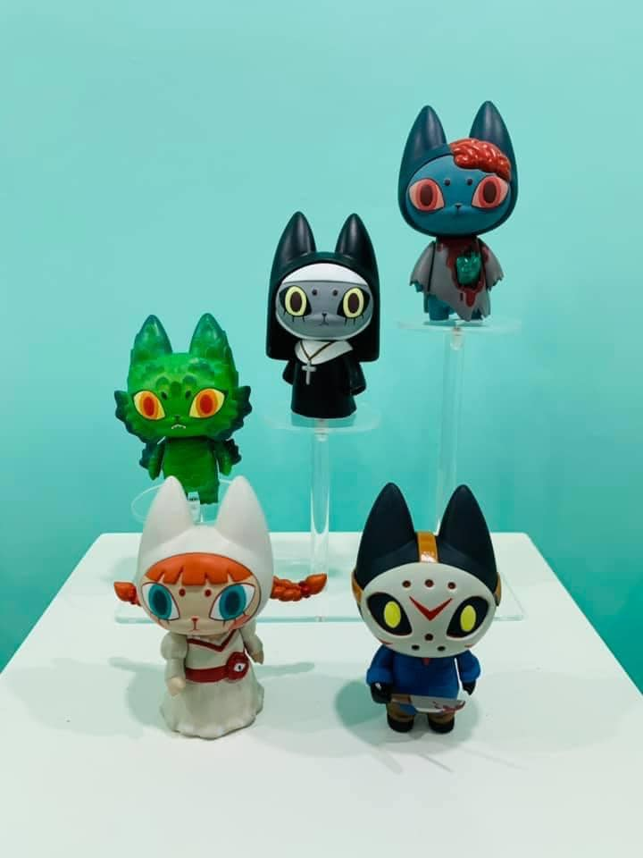 Online Shop Trend Now BADmeaw-Meanfun-Unbox-industries-The-Toy-Chronicle-2021-qrqrr The Toy Chronicle | BADmeaw Nun Blackhood Edition by Mueanfun Sapanake x Unbox Industries