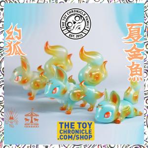 Little-sleeping-Fox-Phantom-Fox-Summer-Goldfish-Genkosha-MerryGoRound