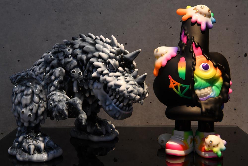 Online Shop Trend Now KEA-x-INSTINCTOY-LIQUID-PEACE-MONSTER-and-Vincent-Black-White-Marble-Edition-The-Toy-Chronicle The Toy Chronicle | KEA x INSTINCTOY LIQUID PEACE MONSTER and Vincent Black & White Marble Edition