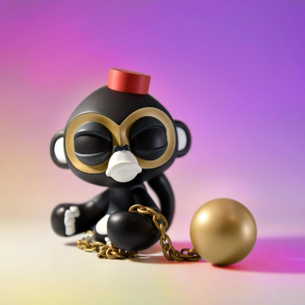 Online Shop Trend Now Little-Bandit-No-Regret-x-Imposter-by-JPX-x-COARSE-The-Toy-Chronicle-2021-monkey--1024x1024 The Toy Chronicle   Little Bandit No Regret x Imposter by JPX x COARSE