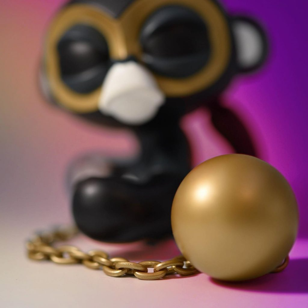 Online Shop Trend Now Little-Bandit-No-Regret-x-Imposter-by-JPX-x-COARSE-The-Toy-Chronicle-2021-monkey-rrqr11-1024x1024 The Toy Chronicle   Little Bandit No Regret x Imposter by JPX x COARSE