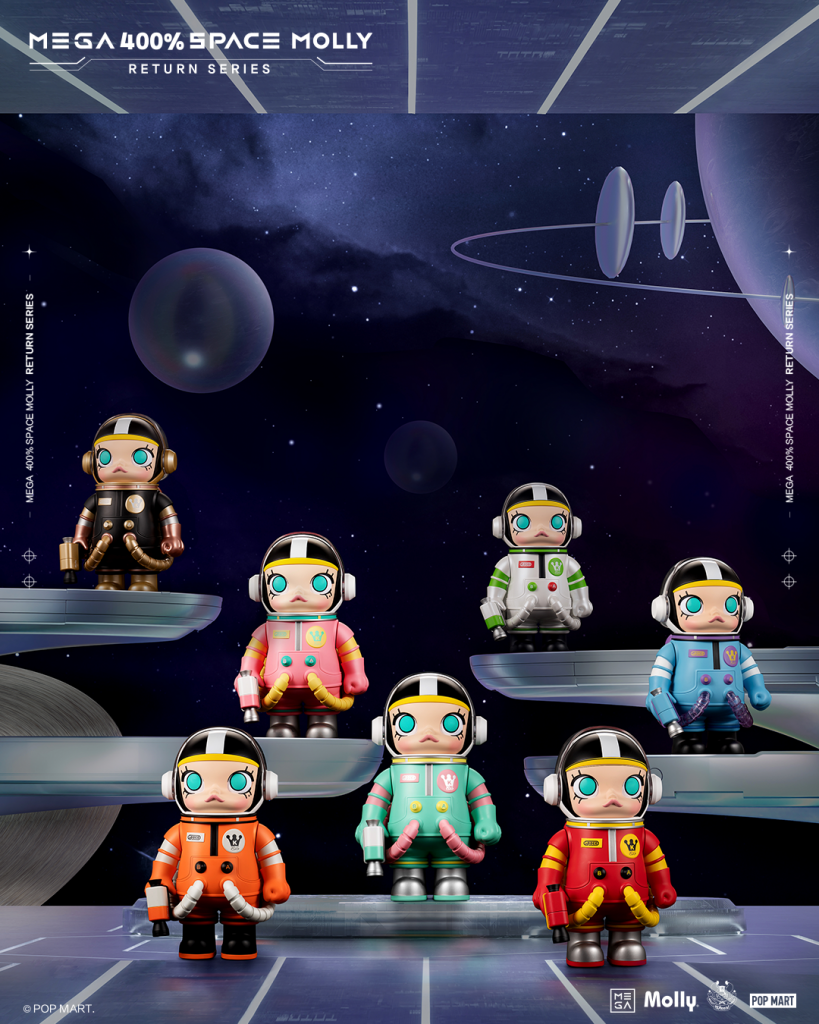 Online Shop Trend Now POP-MART-MEGA-Space-Molly-at-DCon-UK-2021-The-Toy-Chronicle-2021-MEGA-Space-Molly-Return-Series-819x1024 The Toy Chronicle   POP MART x Kenny Wong's MEGA Space Molly at DCon UK 2021