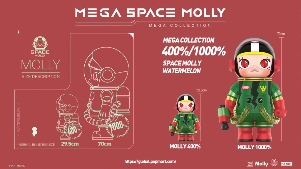 Online Shop Trend Now POP-MART-MEGA-Space-Molly-at-DCon-UK-2021-The-Toy-Chronicle-2021-MEGA-Space-Molly-Watermelon-design-1024x576 The Toy Chronicle   POP MART x Kenny Wong's MEGA Space Molly at DCon UK 2021