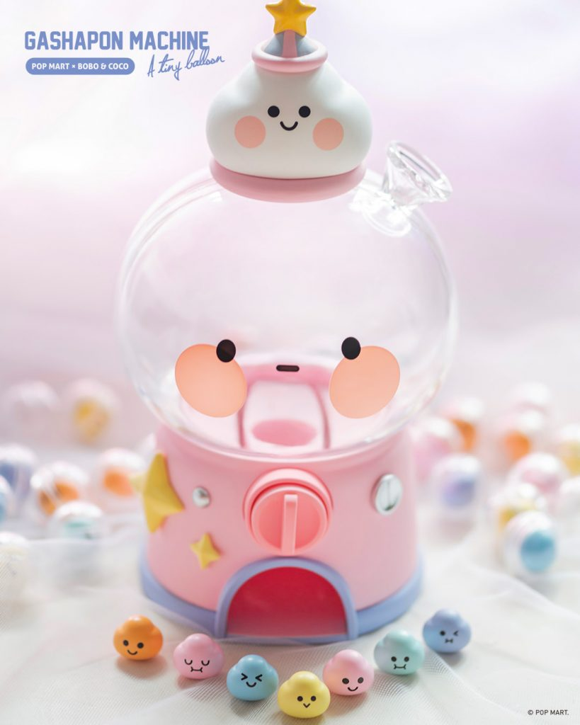 Online Shop Trend Now POP-MARTs-Bobo-Coco-Gashapon-Machine-The-Toy-Chronicle-2021-rqrqr-819x1024 The Toy Chronicle | POP MART's Bobo & Coco Gashapon Machine