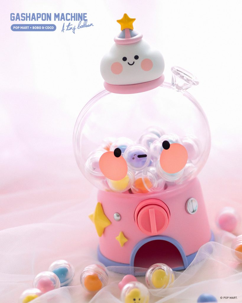 Online Shop Trend Now POP-MARTs-Bobo-Coco-Gashapon-Machine-The-Toy-Chronicle-2021-rqrrqrr-819x1024 The Toy Chronicle | POP MART's Bobo & Coco Gashapon Machine
