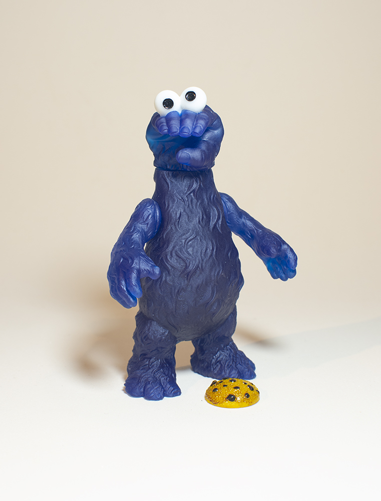 Online Shop Trend Now SICKEMIL-Emilio-Subirás-Grabby-Monster-The-Toy-Chronicle-cookie-monster-Grabby-monster-dark-clear-2-X The Toy Chronicle   SICKEMIL Emilio Subirá's Grabby Monster