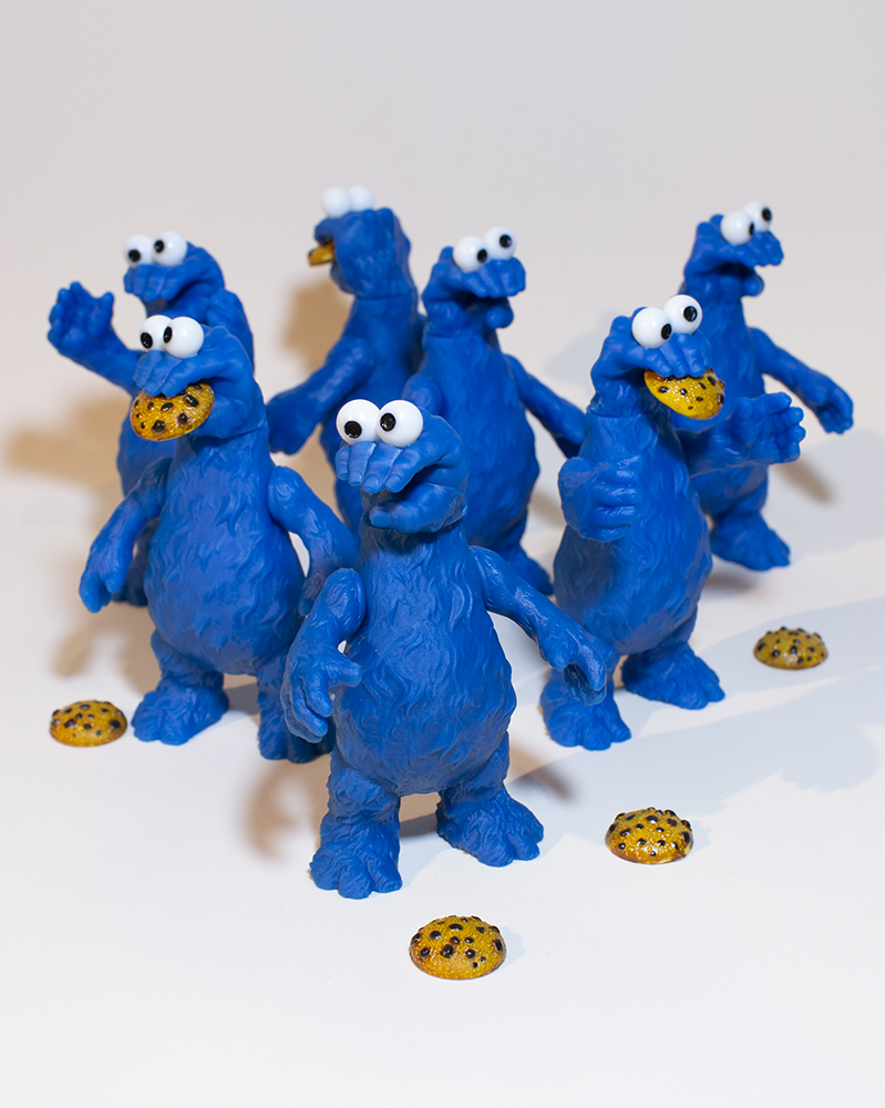 Online Shop Trend Now SICKEMIL-Emilio-Subirás-Grabby-Monster-The-Toy-Chronicle-cookie-monster-Grabby-monster-group-2-X The Toy Chronicle   SICKEMIL Emilio Subirá's Grabby Monster