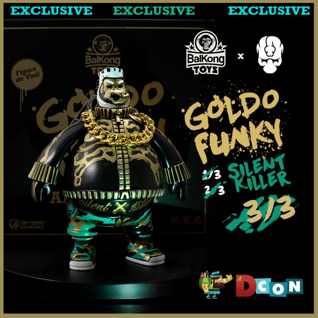Online Shop Trend Now Silent-Killer-GOLDO-FUNKY-by-Mr-KumKum-x-Balkong-Toys-The-Toy-Chronicle-2021--1024x1024 The Toy Chronicle   Silent Killer GOLDO FUNKY by Mr KumKum x Balkong Toys