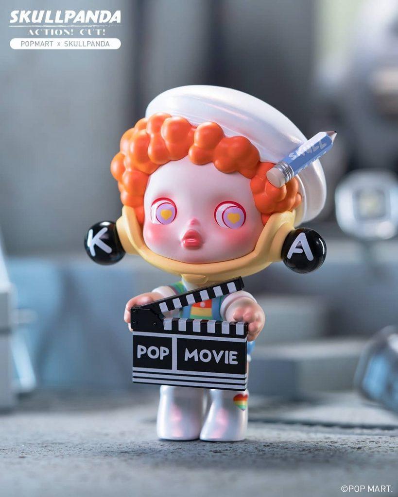 Skull Panda x POP MART Skullpanda Action Cut Blind Box Series The Toy Chronicle 2021 rqr3