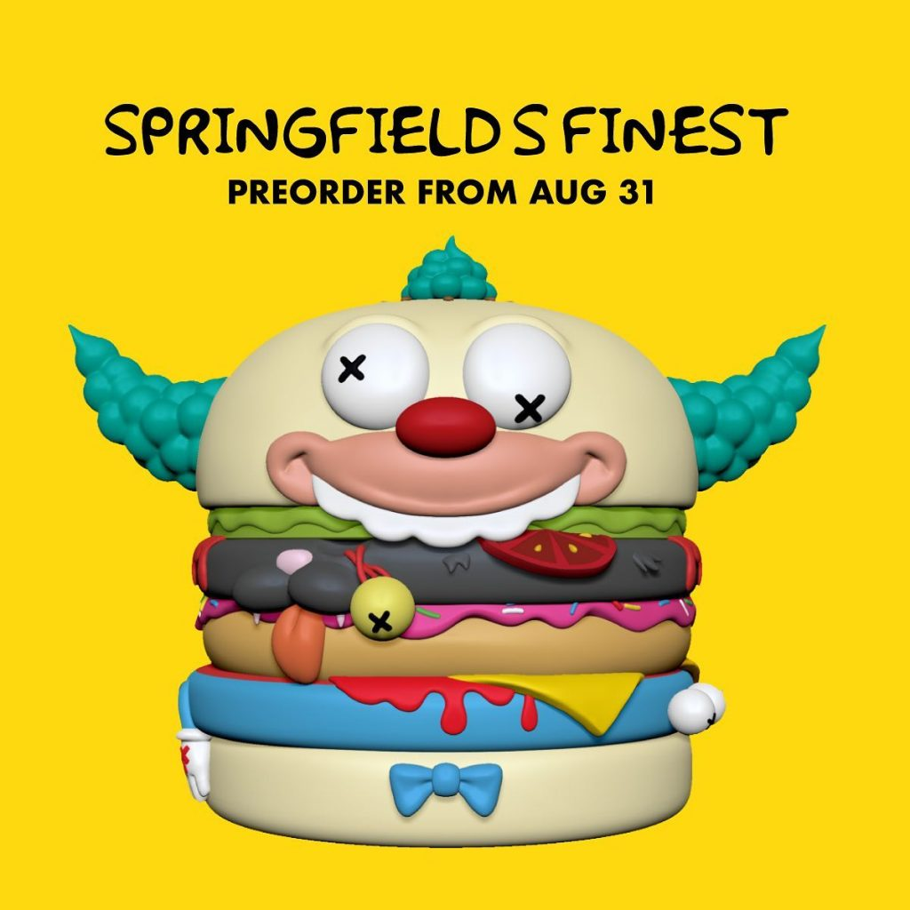 Online Shop Trend Now Springfields-Finest-Burger-Series-by-Abiebi-x-POBBER-The-Toy-Chronicle-the-simpsons-krusty-rrr-1024x1024 The Toy Chronicle | Springfield's Finest Burger Series by Abiebi x POBBER