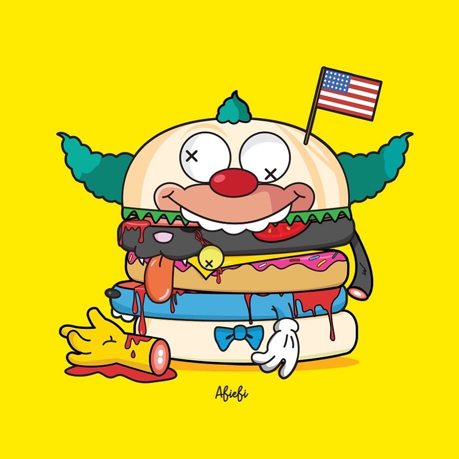 Online Shop Trend Now Springfields-Finest-Burger-Series-by-Abiebi-x-POBBER-The-Toy-Chronicle-the-simpsons-krusty-rrrr The Toy Chronicle | Springfield's Finest Burger Series by Abiebi x POBBER