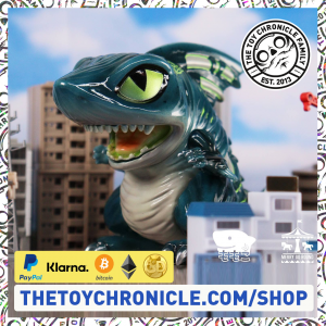 SHARK KING Jr Hell Shark Egg by Momoco Studio x Merry Go Round-ttc